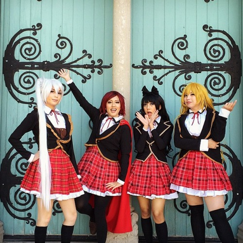 Team RWBY by akahime-chan