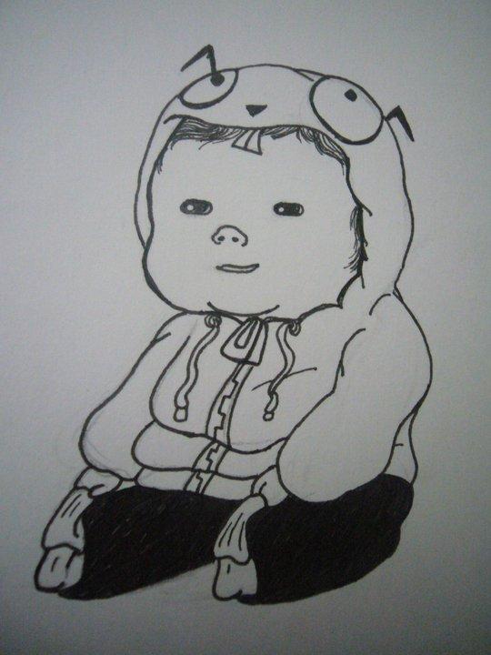 Baby Astilla by manosdemonkey
