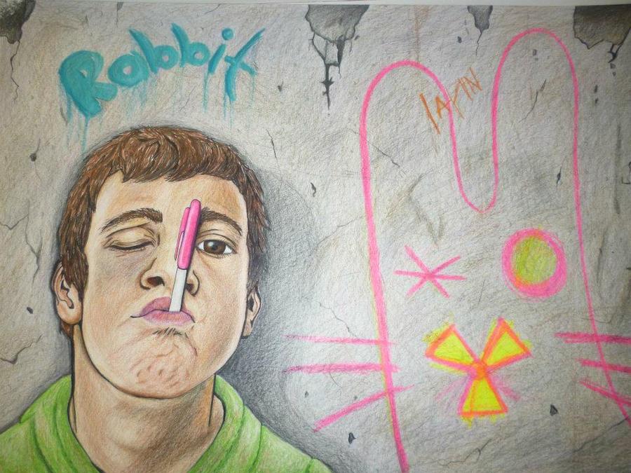 Danger Rabbit by manosdemonkey