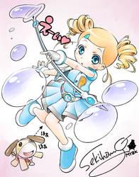 Rolling Bubbles by sekihang