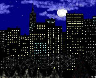 CityLights... by UmaNHamU