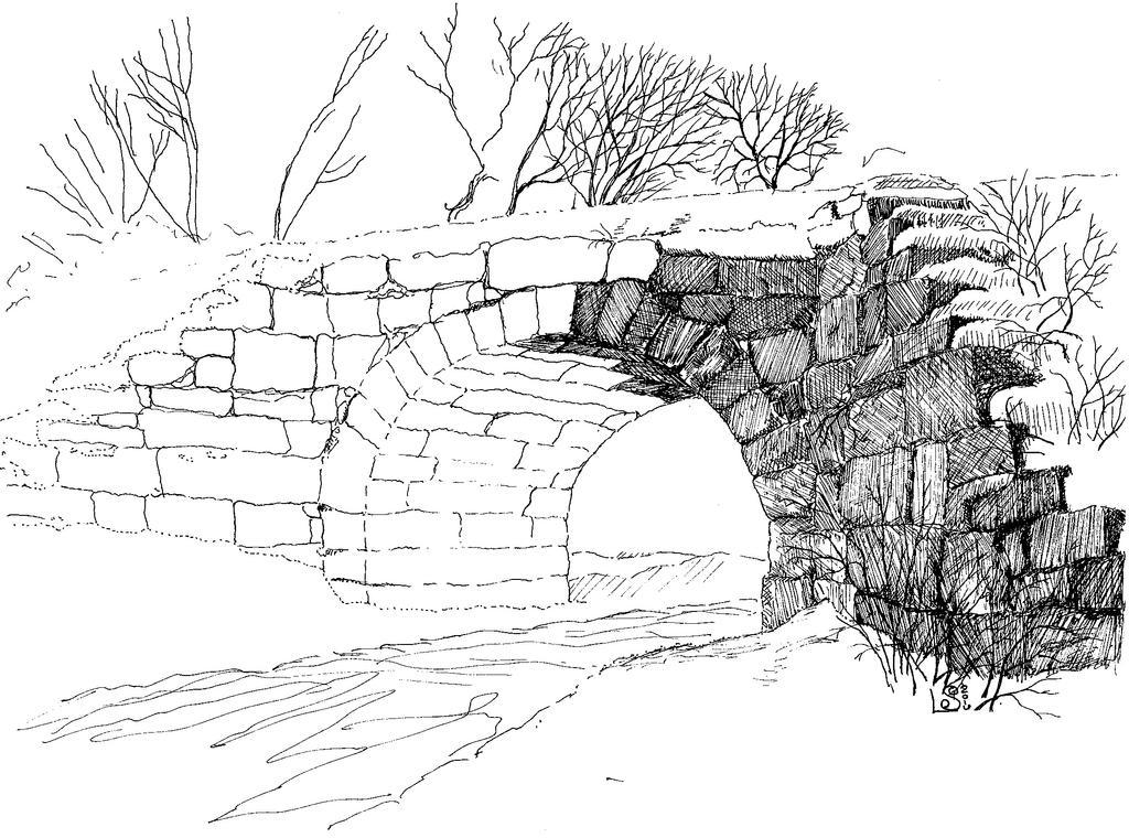Suncook Stone Arch Bridge WIP  by UmaNHamU