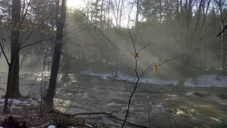 The  little river roars... by UmaNHamU