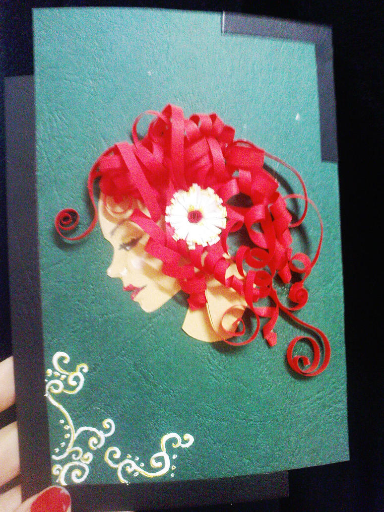 Paper art quilling by allyedfrown on deviantart for How to quilling art