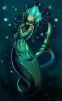 Mermaid of the Deep by AllyEdFrown