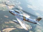 F-86 Sabre over Korea