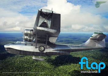PBY-5 Catalina by Oxygino