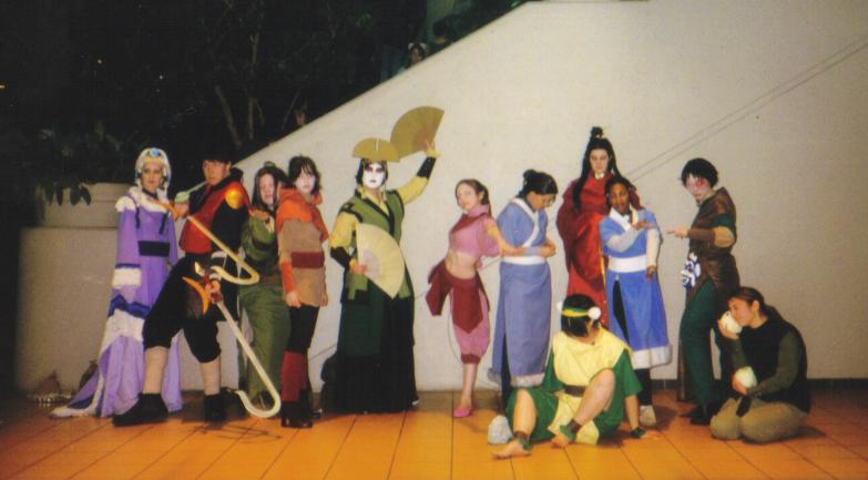 Ohayocon 2007 - Avatar Group by MasterDoggeh