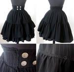 Pirate Maiden Highwaist Skirt