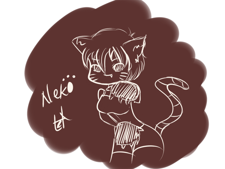 Quick Sketch 01: Neko by liel08