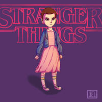 Stranger Things - Eleven by liel08