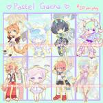 Pastel August Gachadopts (5/8 OPEN, extras!!)