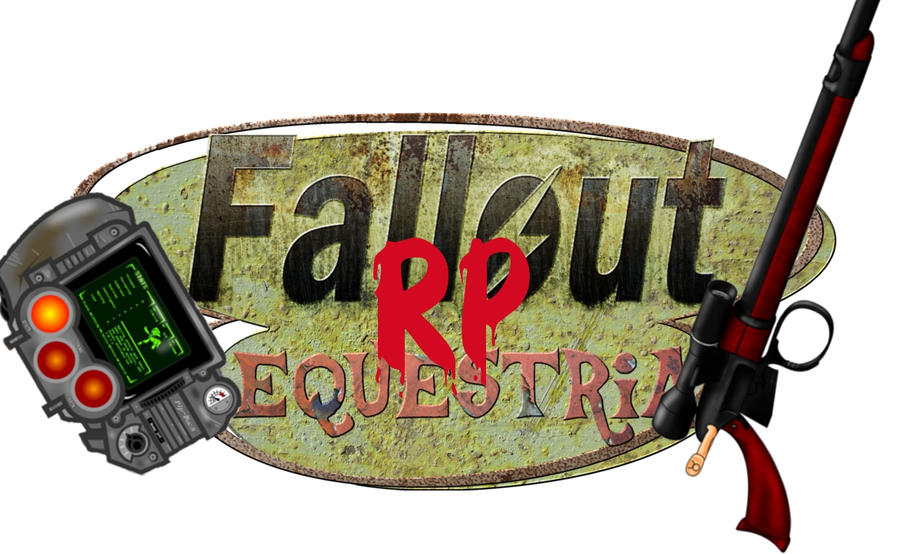 Logo Fallout Equestria Role Play by BlastWint