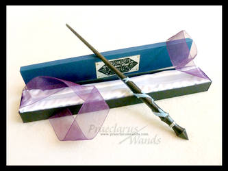 Handmade Wand ''Magical Thunder'' by PraeclarusWands