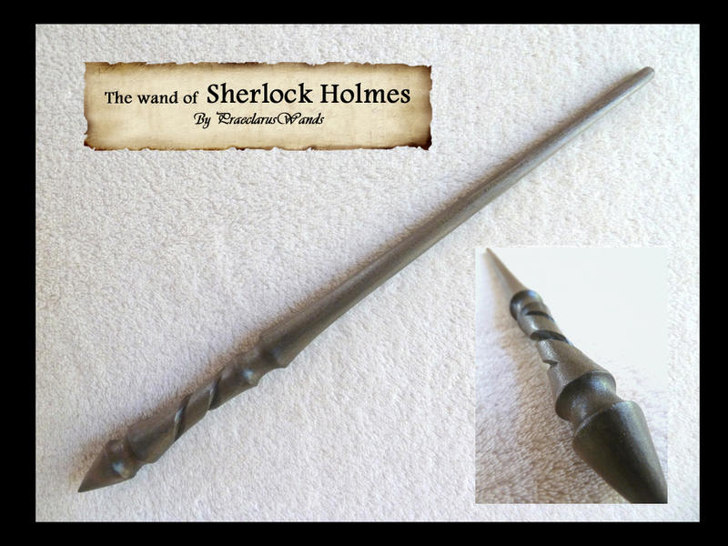 ''Sherlock'' SH-146 by PraeclarusWands