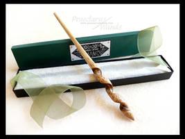 Handmade Wand ''Bone Twist'' AK-761c by PraeclarusWands
