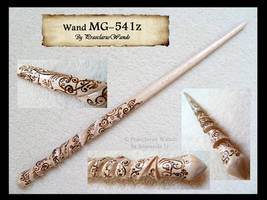 ''Black Tie Spiral'' MG-541z by PraeclarusWands