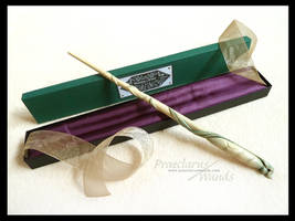 Handmade Wand ''Green Butterfly'' AD-779g by PraeclarusWands