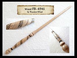 ''Celtic Spiral'' FB-494i by PraeclarusWands
