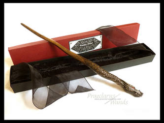 Handmade Wand ''Black Dragon'' by PraeclarusWands
