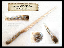 ''Horn Spiral'' MP-559m by PraeclarusWands