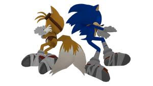 Sonic and Tails sleeping  by Korey-SonicFan22