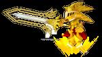 Excalibur Sonic's True Power by Korey-SonicFan22