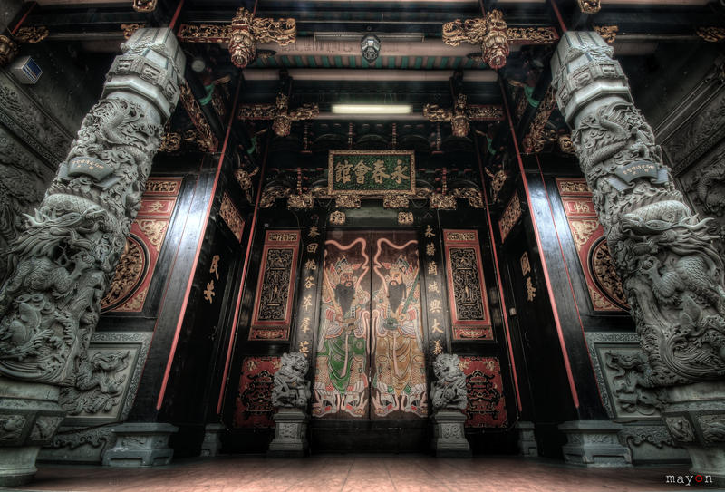 hdr - chinese temple by mayonzz