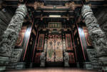 hdr - chinese temple