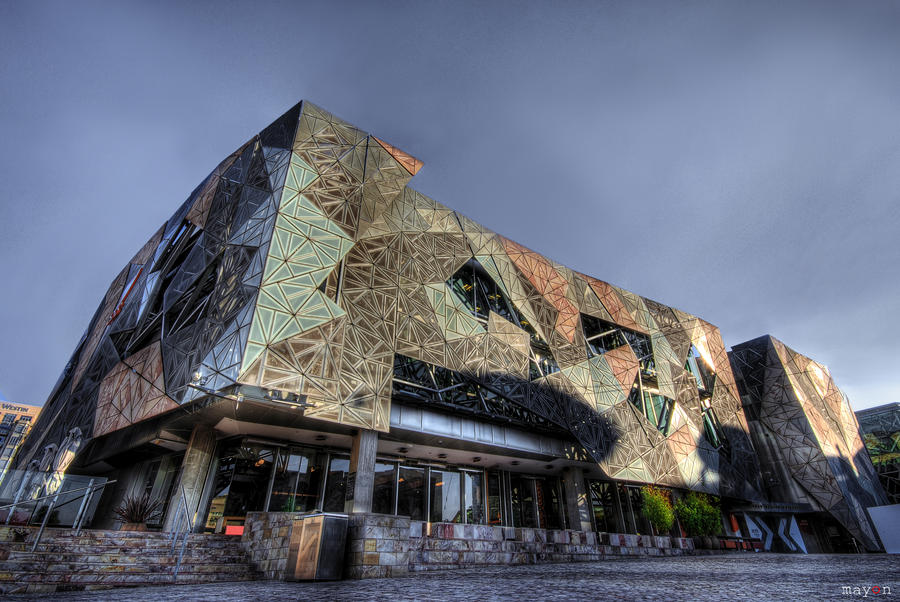 hdr - Federation Square 02 by mayonzz