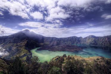 Mount Rinjani, Lombok by mayonzz
