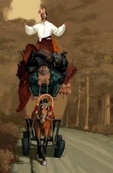 a cart by vertebra