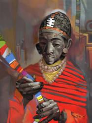 Maasai by vertebra