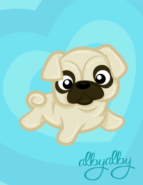 Cute Pug By ALBY LePetiteDreamer On DeviantArt