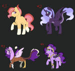 Crackships Adoptions with friends #2 (#4 OPEN!!) by Annabear1211