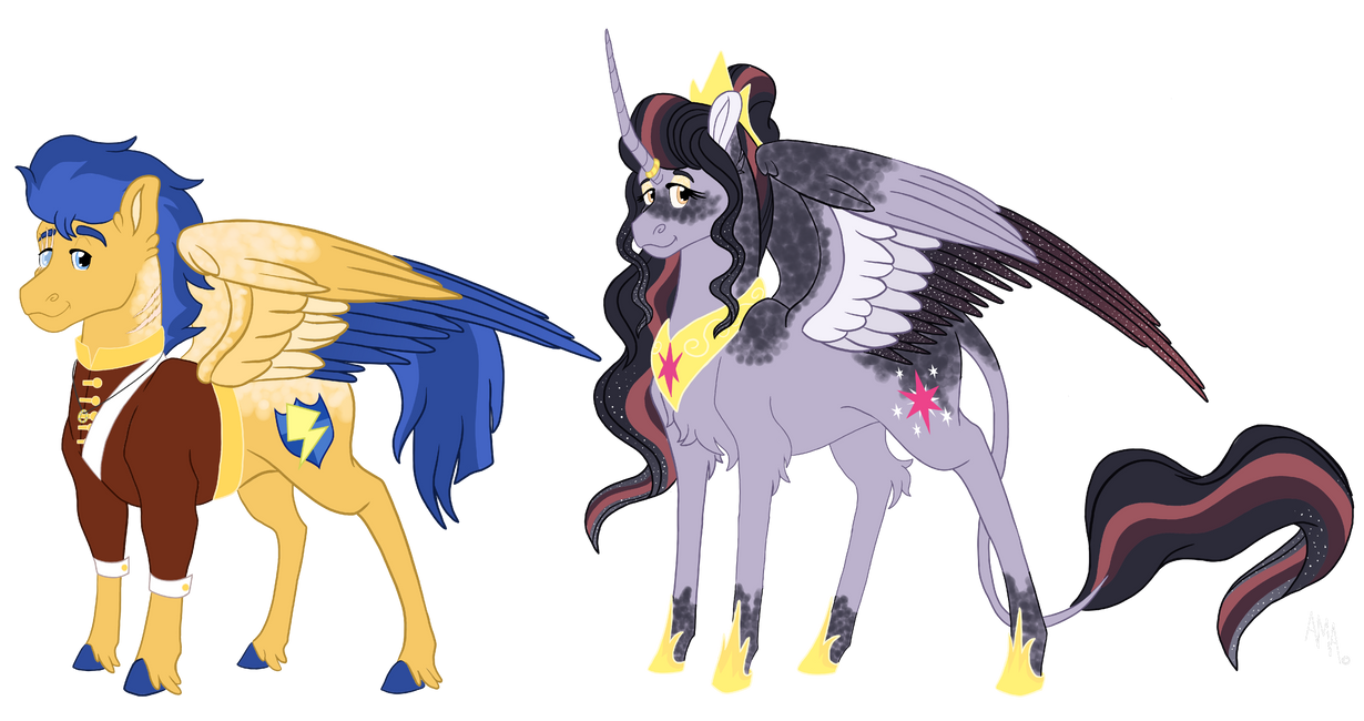 Seleneverse: Queen Twilight and King Flash
