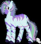 Commission: Zebra Rose
