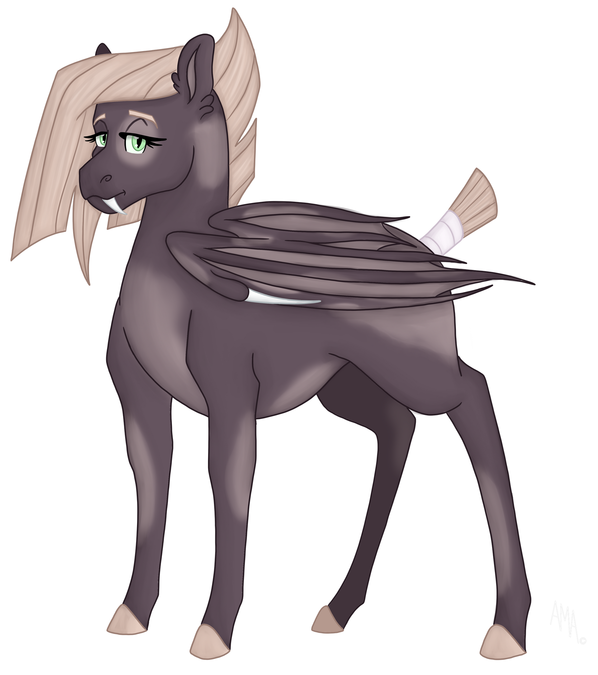 Commission: Confident....scary pony