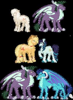 Seleneverse: Applejack and Spike