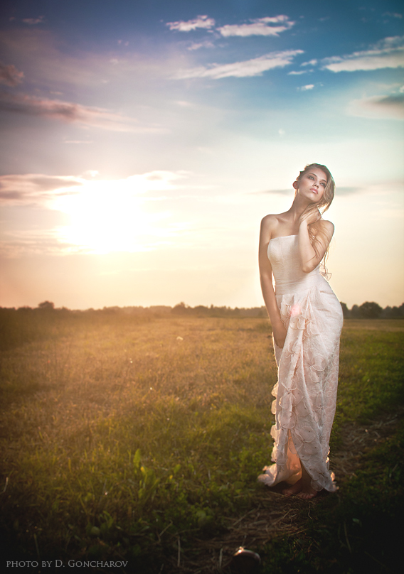 evening portrait by DenisGoncharov