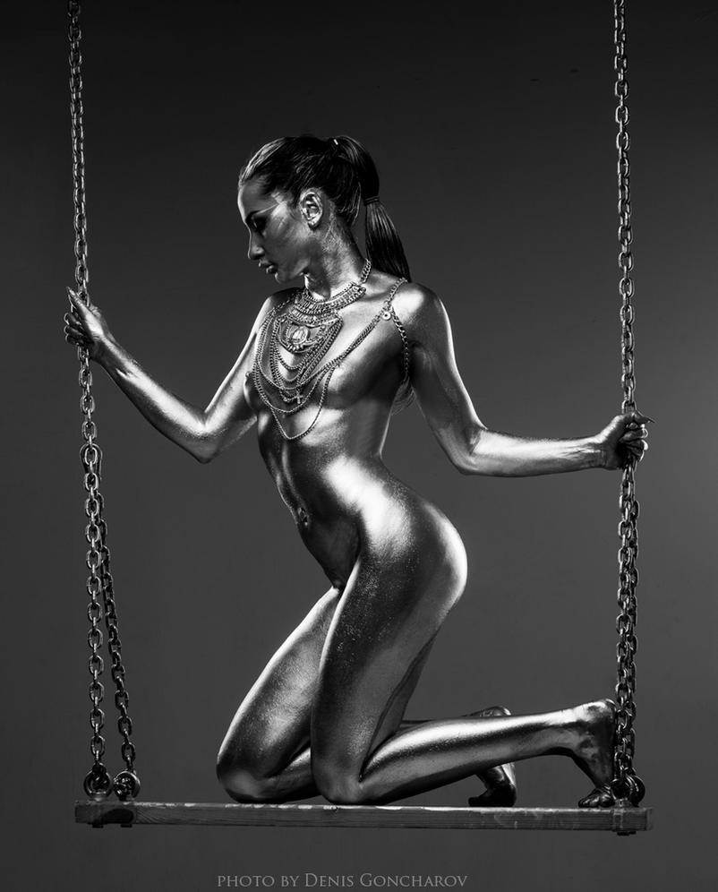 Terminator's girlfriend by DenisGoncharov