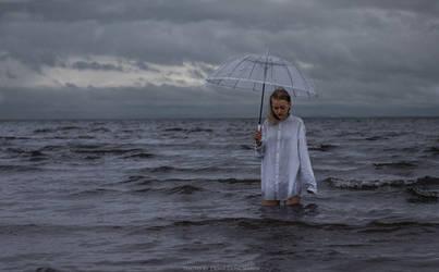 silence at the rain