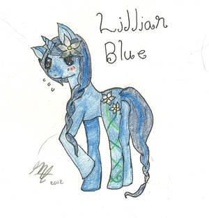 MLP: FIM OC: Lillan Blue