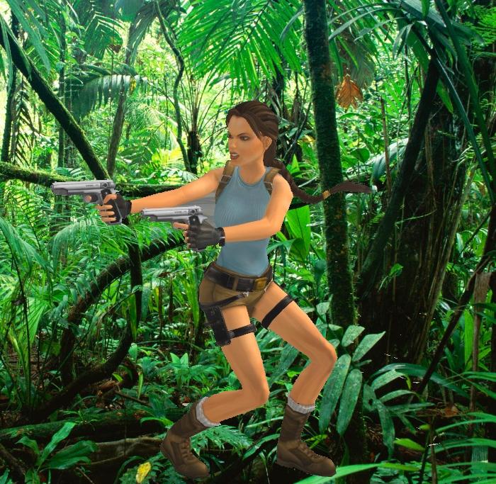 Tomb Raider Anniversary Wallpaper: Tomb Raider Anniversary Models For XNALara By Carbint On