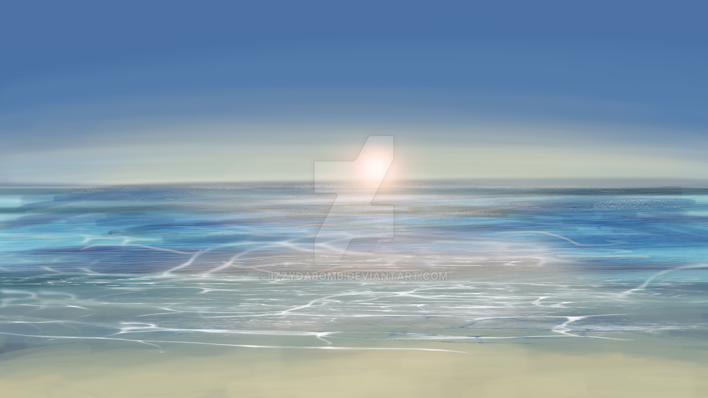 Seashore by IzzydaBomb