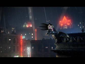 BATMAN by anoterhunter94