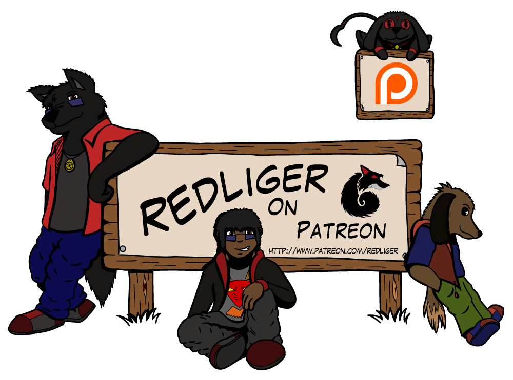 Patreon Banner by redliger