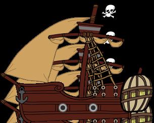 Pirate Ship by Jobab