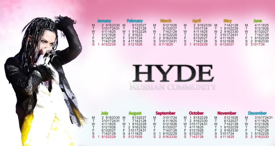 calendar HYDE2 by Fennix483