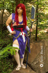 Erza cosplay ~ Robe of yuen